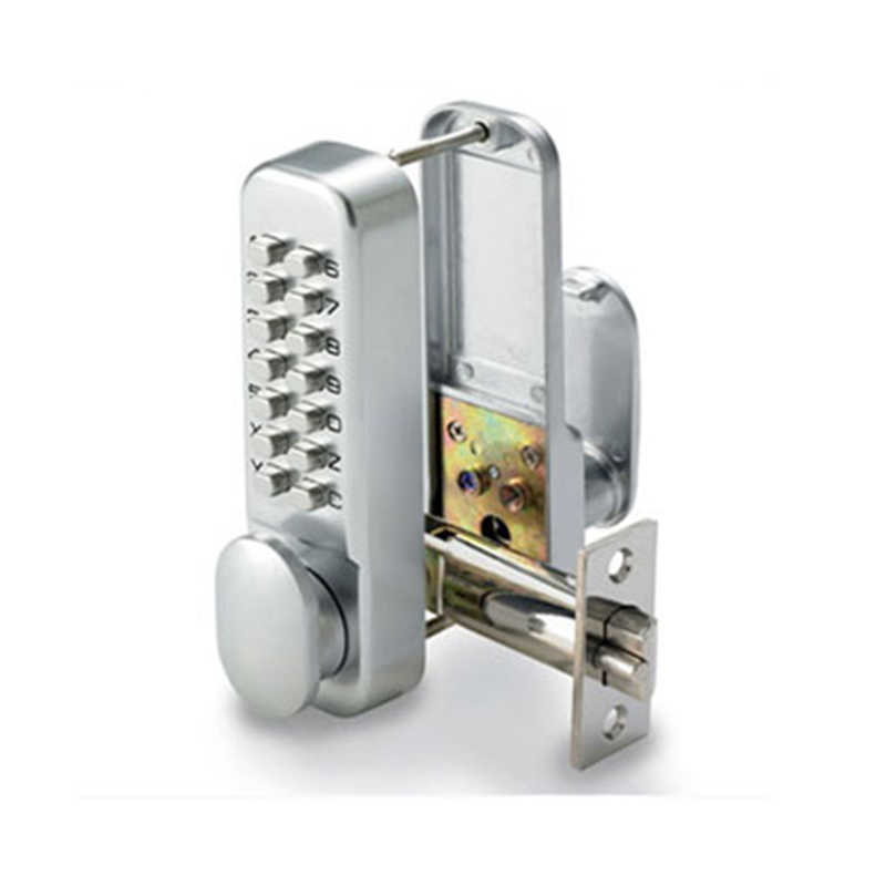 SBL300/S Non-Hold Open Digital Lock Satin Chrome