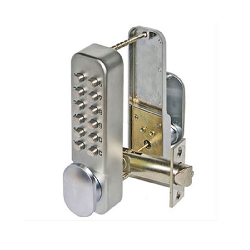 SBL310/S Hold Open Digital Lock Satin Chrome