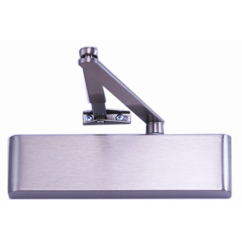 TS5.225 2-5 Adjustable Door Closer Silver