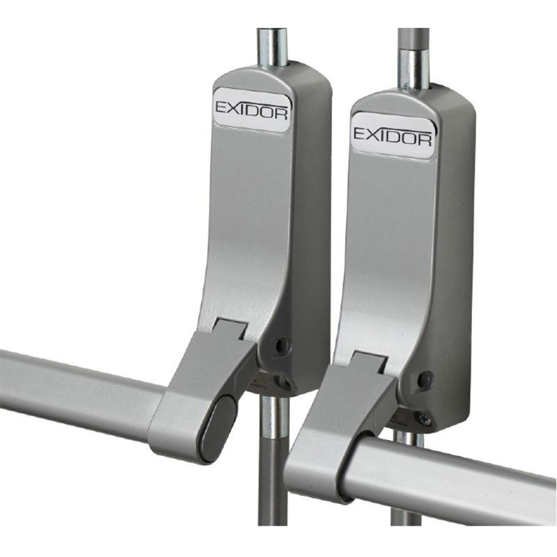 Exidor Push Bar Non-Rebated Double Door Set