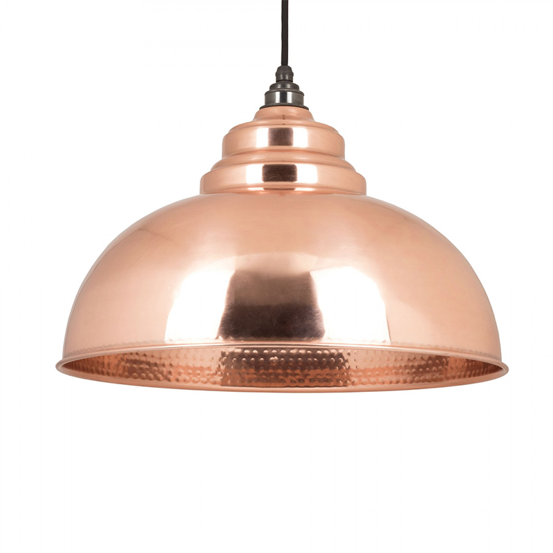 Harborne Pendant Hammered Copper Hammered Copper