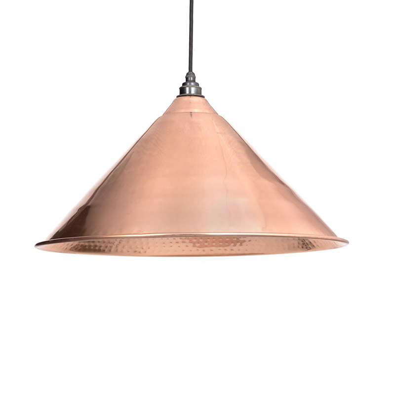 Hockley Pendant Hammered Copper Hammered Copper