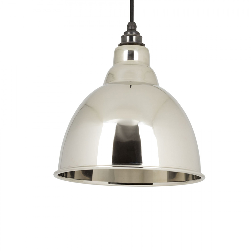 Brindley Pendant Smooth Nickel Smooth Nickel