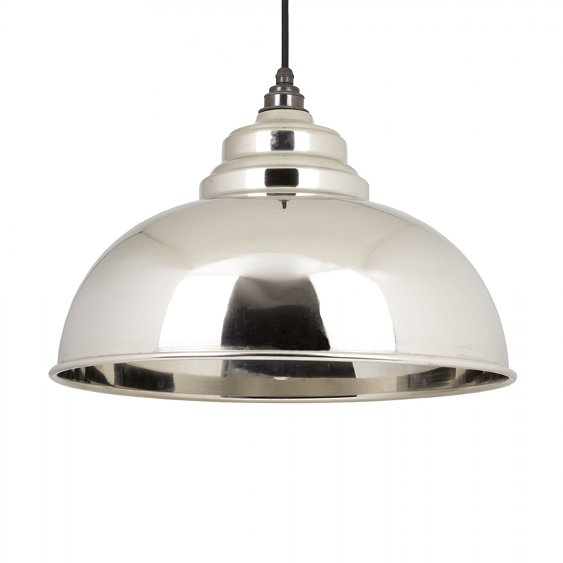 Harborne Pendant Nickel Smooth Nickel