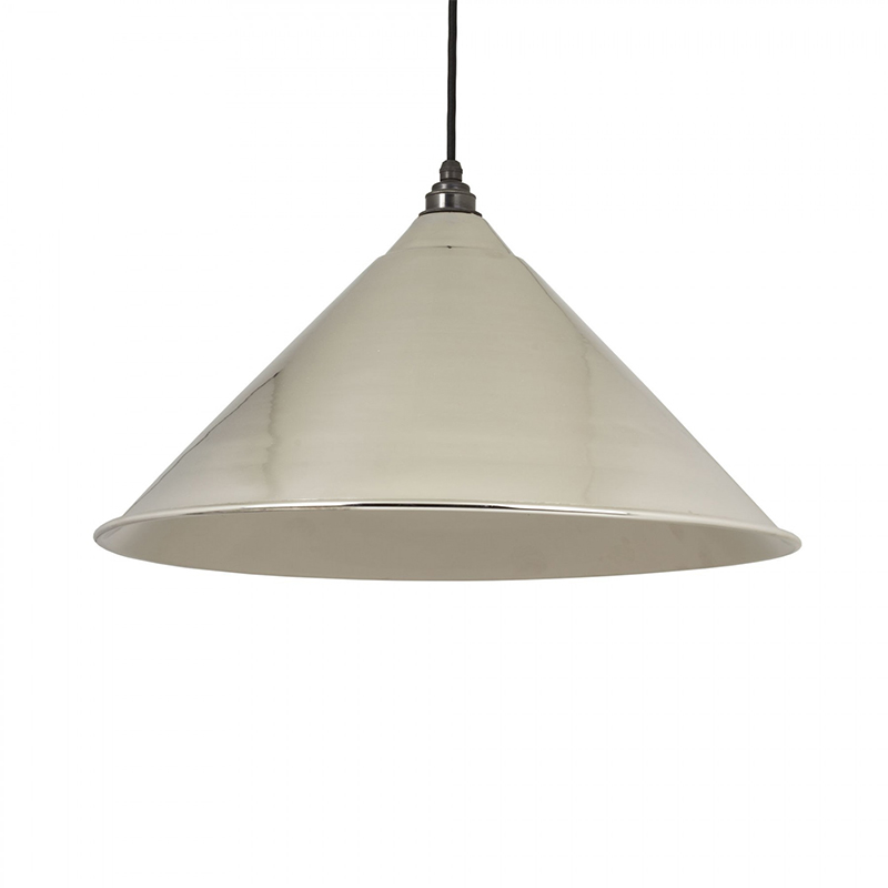 Hockley Pendant Nickel Smooth Nickel