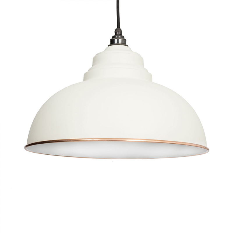 Harborne Pendant Accents 400mm Dia, 270mm Height Oatmeal