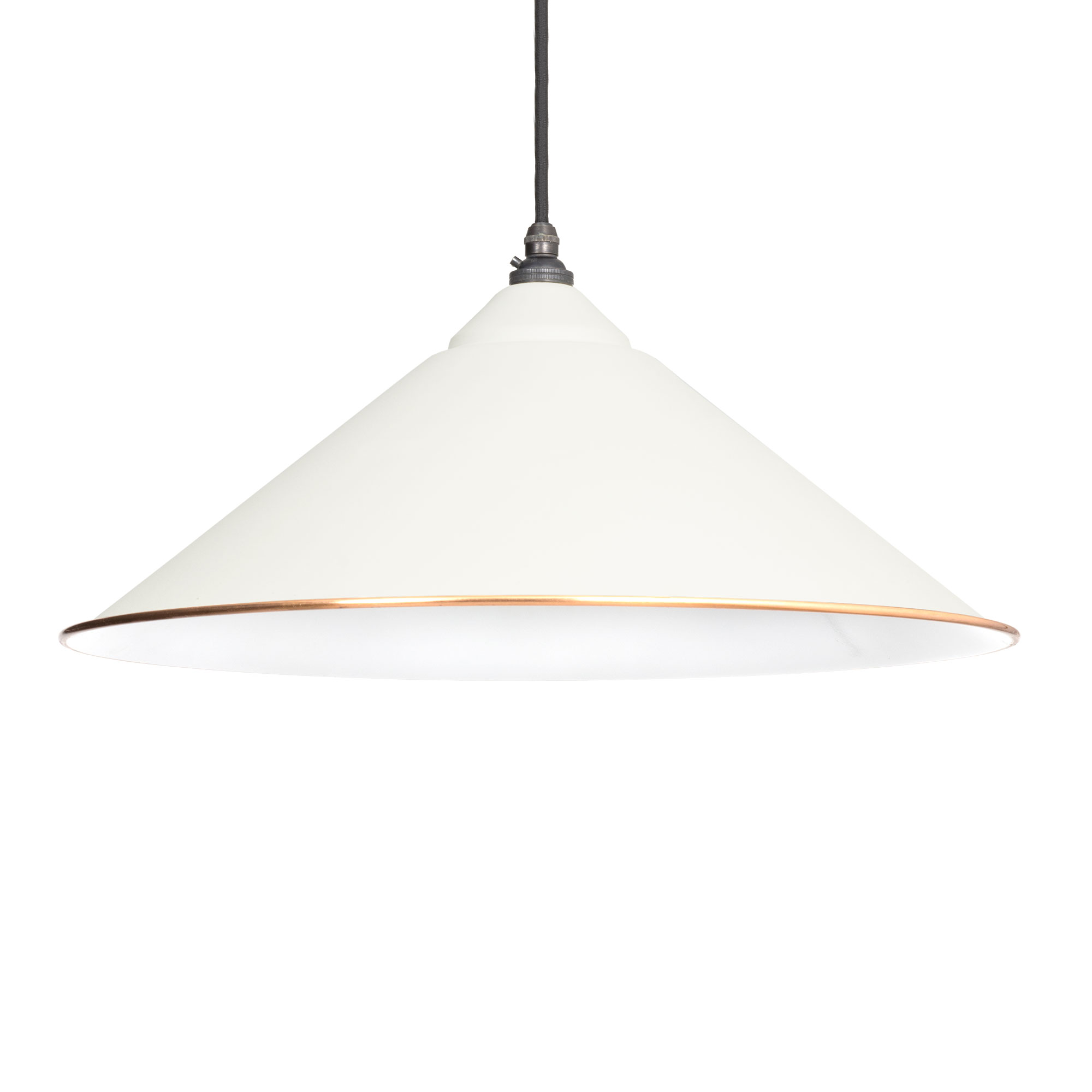 Yardley Pendant Accents 460mm Dia, 210mm Height Oatmeal