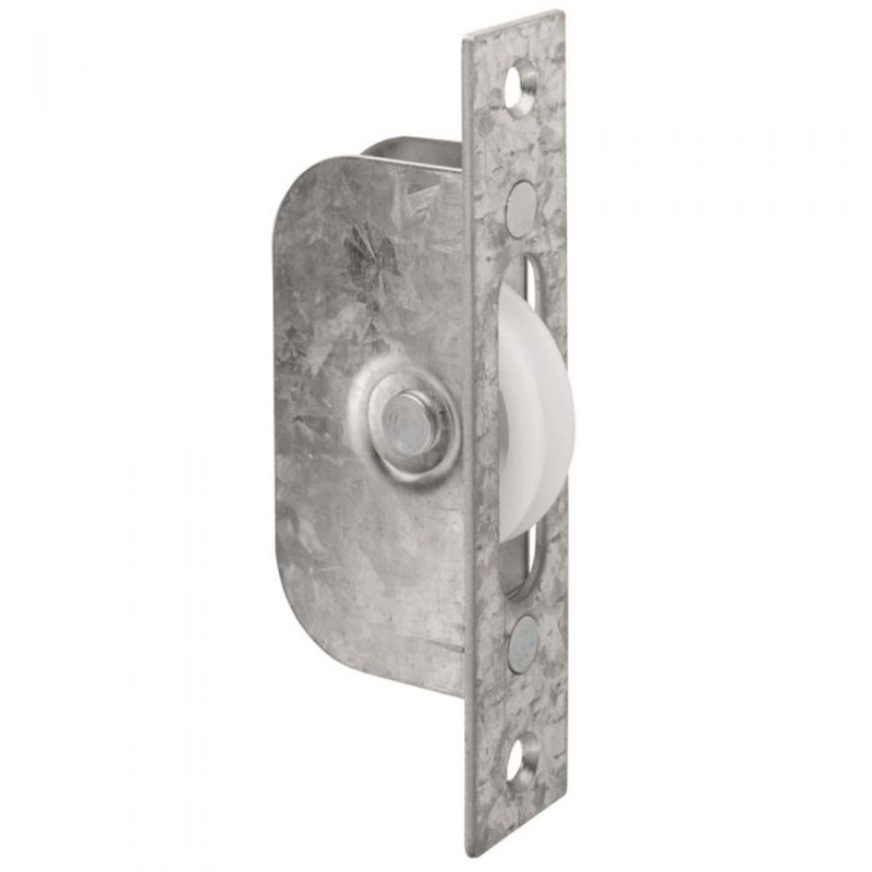 Sash Window Axle Pulley - Square - 117mm x 25mm Galvanised