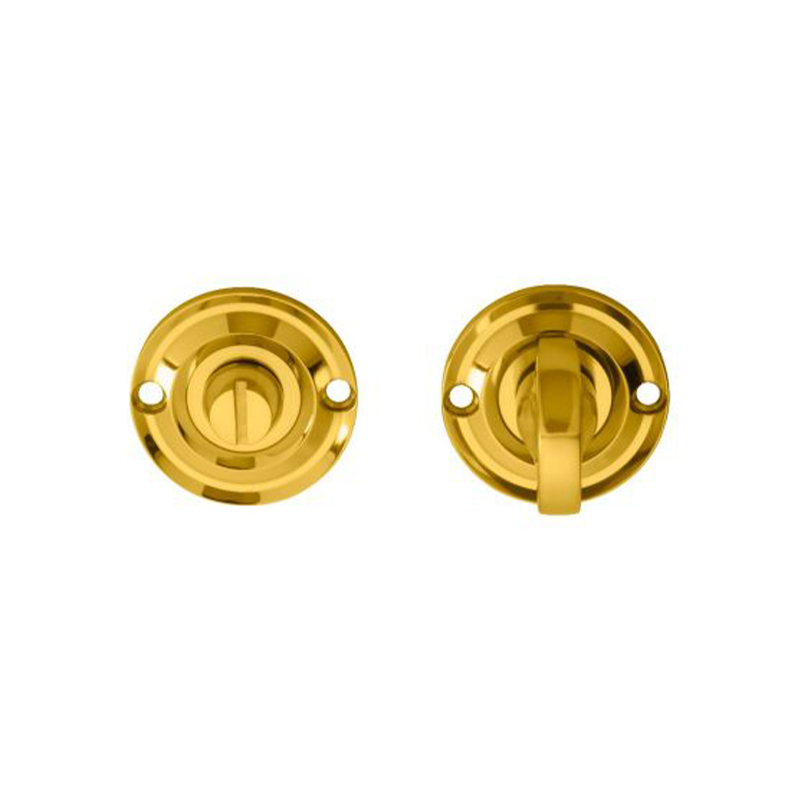 Delamain Small Thumbturn & Release Polished Brass