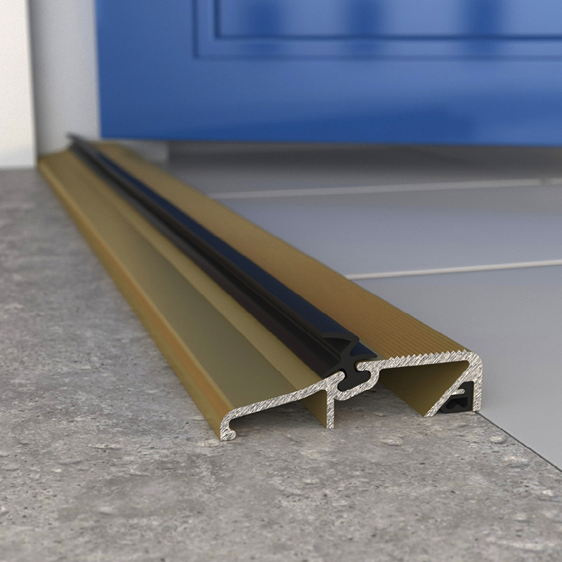 Exitex SLT Slimline Threshold - 914mm - Gold