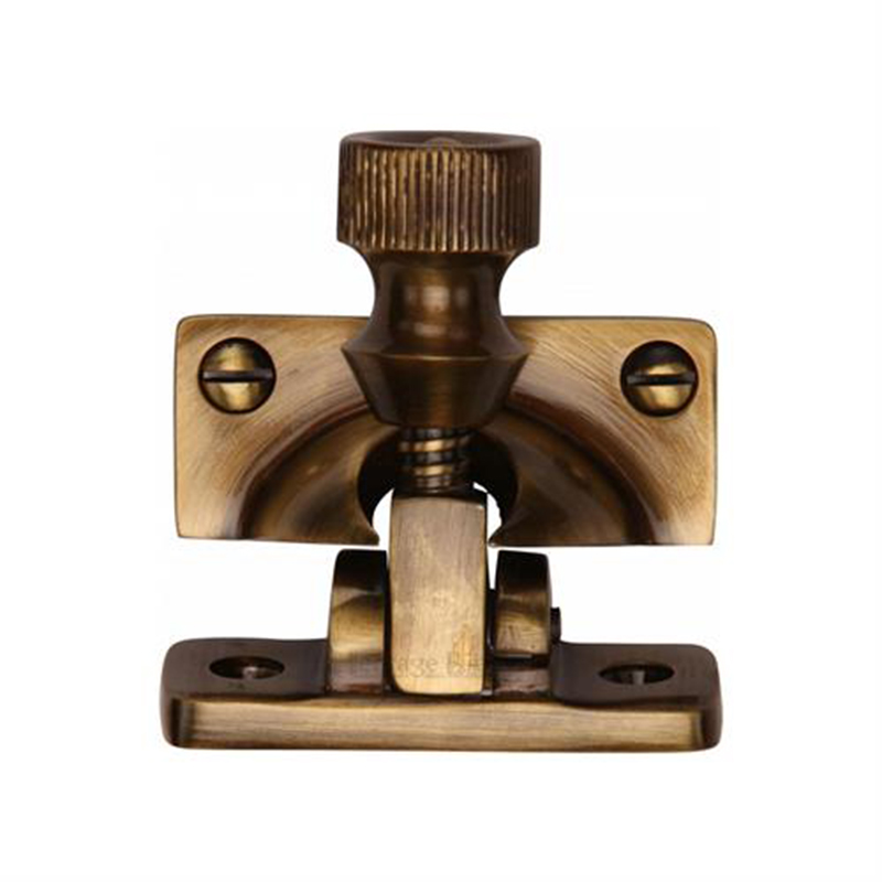 Brighton Sash Fastener Antique Brass